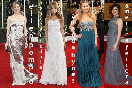 Ellen Pompeo Dress