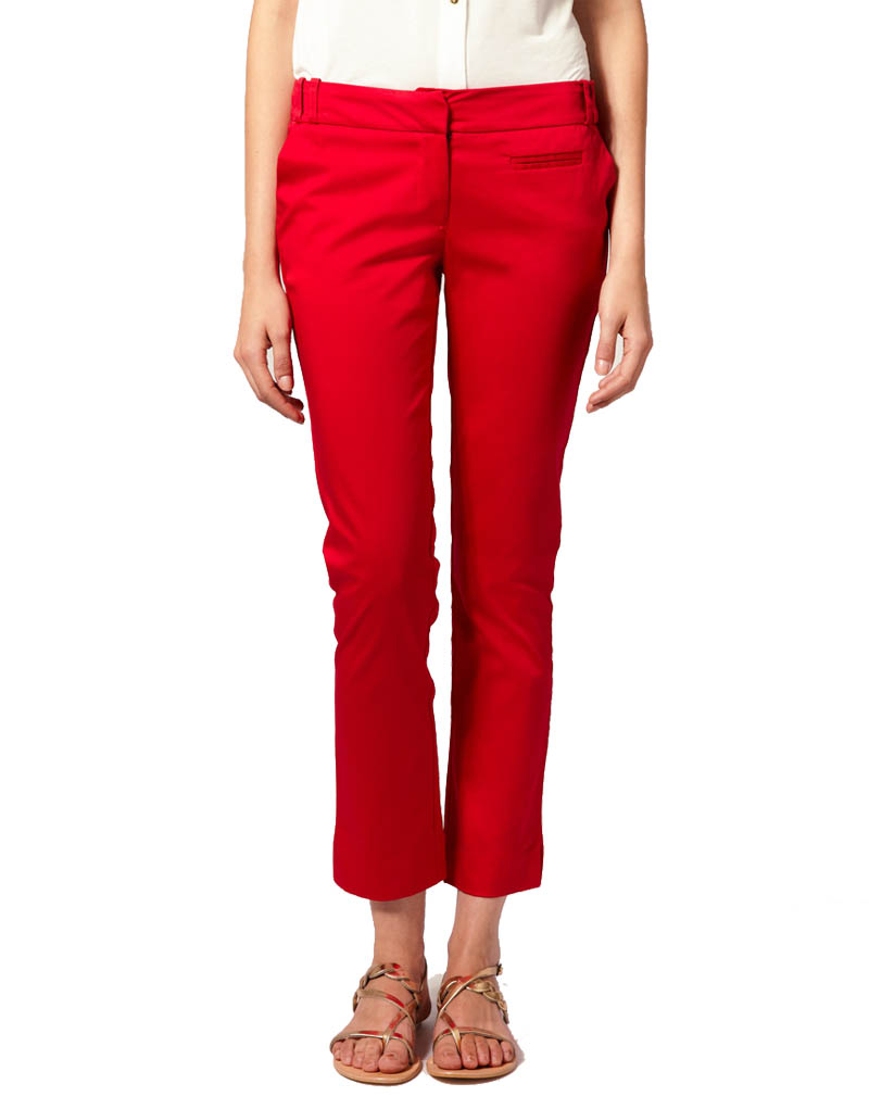 red capri pants - Pi Pants
