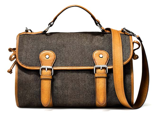 ZARA Fabric City Satchel