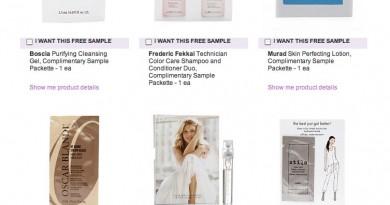 Beauty com Free Samples