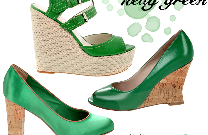 kelly green shoes