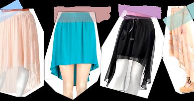 hi-low skirts