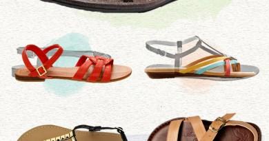 14 Flat Sandals under $25!