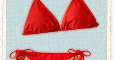 Old Navy Red Bikini (on sale!)