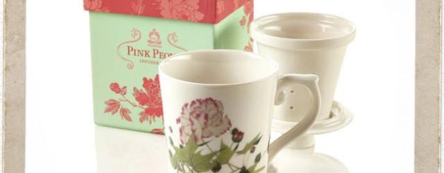 Peonies Make Happy Tea