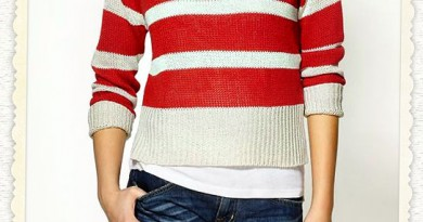 Nautical Strip Sweater by RD Style