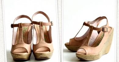 Monday Wedgie: Rulla Cork Wedges in Baby Pink