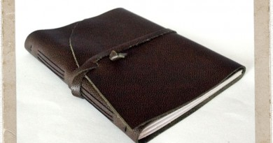 Leather Journal by Orange Windmill