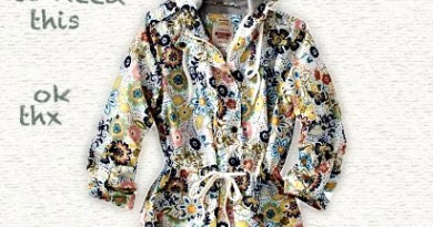 Hooded Floral Anorak