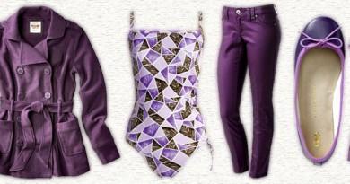 Beautiful purple everything!