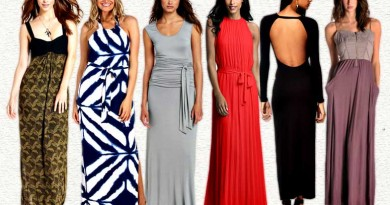 Maxi Dresses - A little on the fancy side