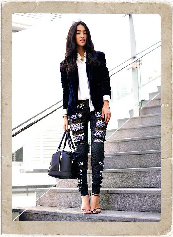 How To Wear Sequin Leggings u2022 Broke and Beautiful