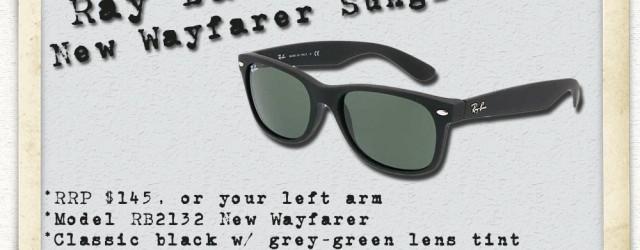Ray Ban New Wayfarer