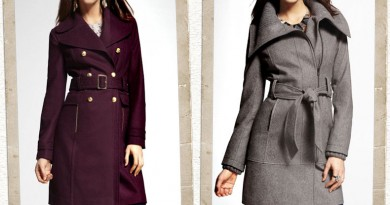 Long Wool Coats from EXPRESS