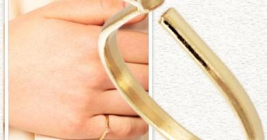 Gogo Philips Simple Diamante Ring on Broke & Beautiful ($10)