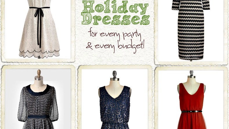 Holiday dresses for every party and every budget
