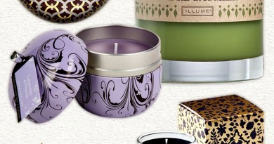 Luxurious Designer Spa Candles (great for gifts!)