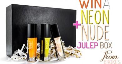 Julep Neons & Nudes Giveaway