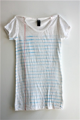 Ruled Notebook Paper T-Shirt