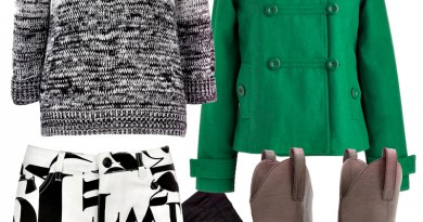 Dream Outfit: Bold Kelly Green & Typography Short