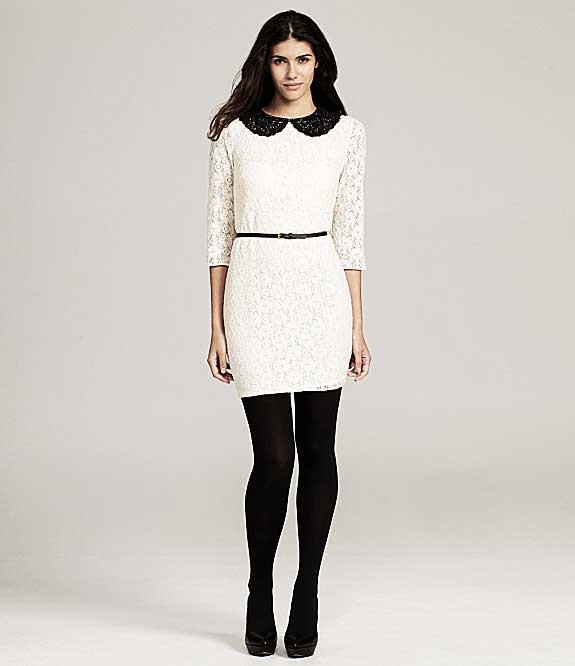 Chelsea & Violet Peter Pan Collar Dress