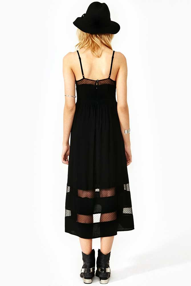 NastyGal Charmed Lace Dress