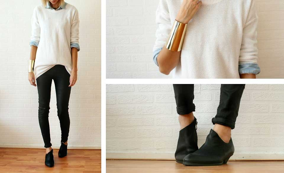 How The Internet Wears: Low Ankle Boots • Broke and Beautiful
