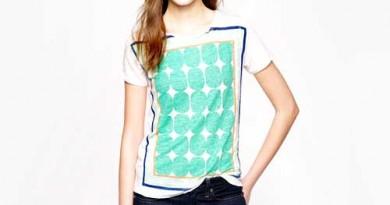 Graphic Tee Club: J. Crew Pop Art Dot Shirt