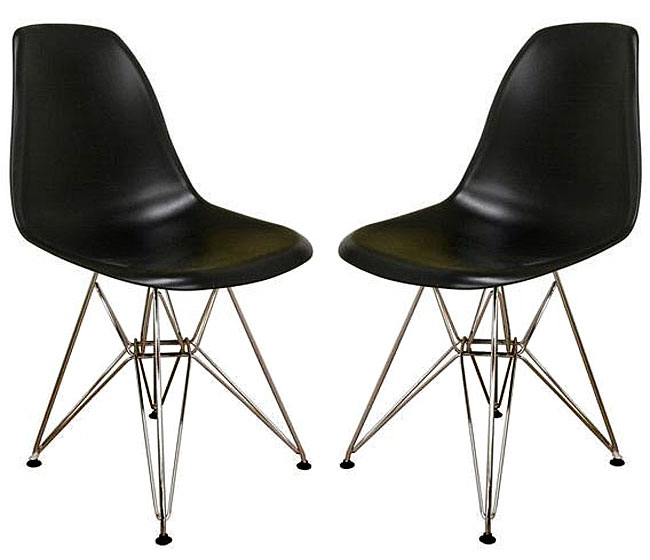 Black Modular Dining Chairs, $144.99 for 2