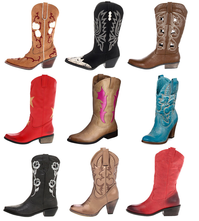Loud, Bold Western Cowboy Boots