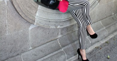 Black & White Striped Pants Featured