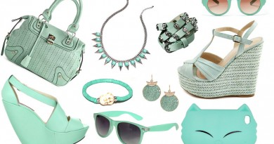 Mint-Green-Accessories
