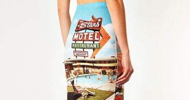 Motel Print Skirt from Topshop
