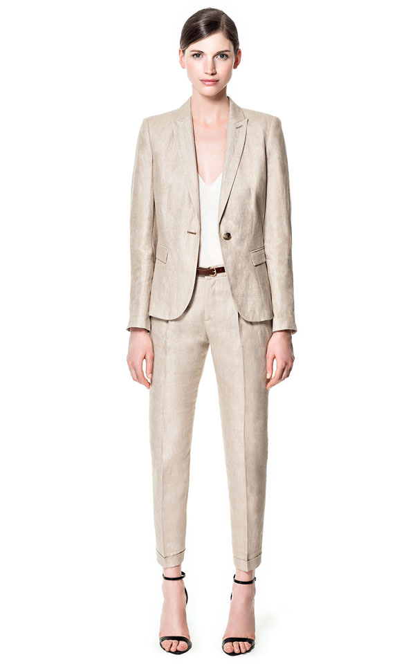 linen pant suits - Pi Pants