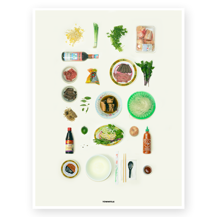 Pho Poster by Sabzi