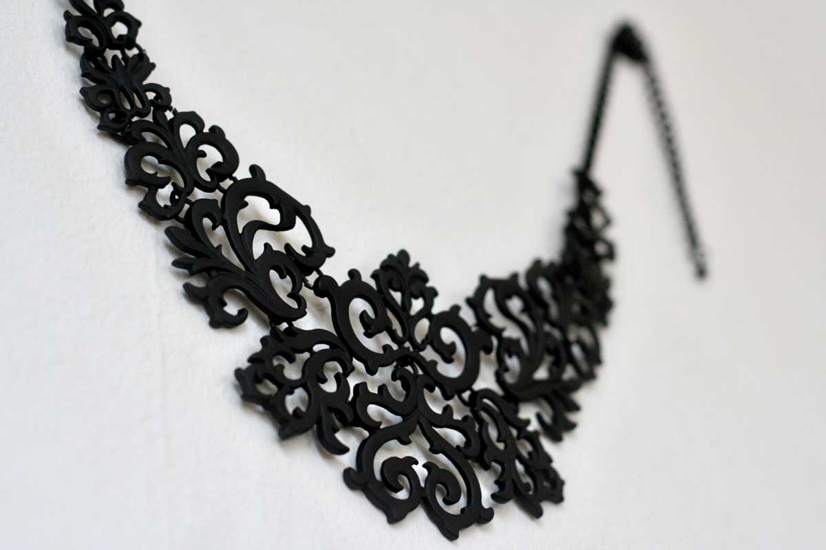 Black Totem Necklace from Choies