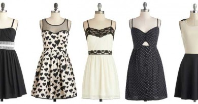 ModCloth Greyscale Summer-Dresses