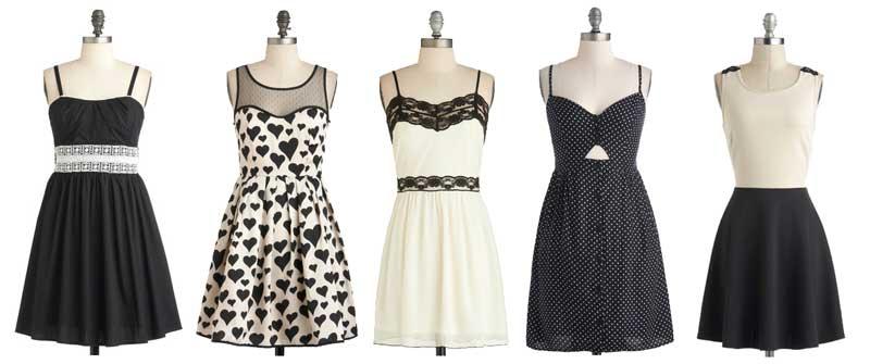 ModCloth Greyscale Summer-Dresses