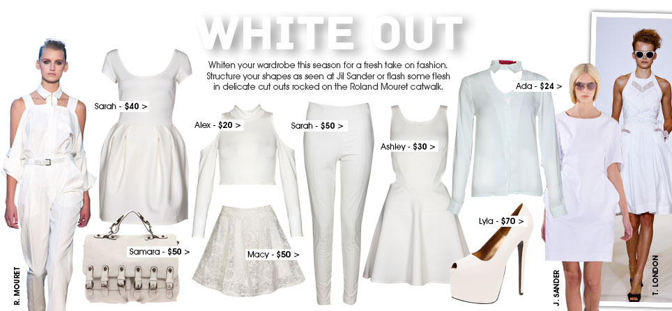White Out Boohoo