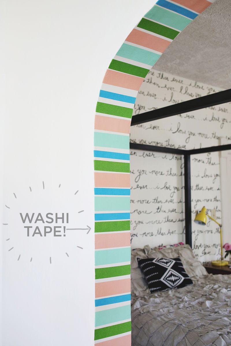 washi tape door feature