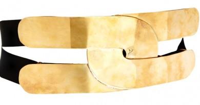 ASOS Wide Plate Elastic Waist Belt
