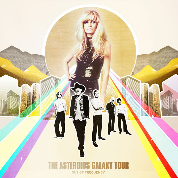 "The Asteroids Galaxy Tour ""Out of Frequency"" album"