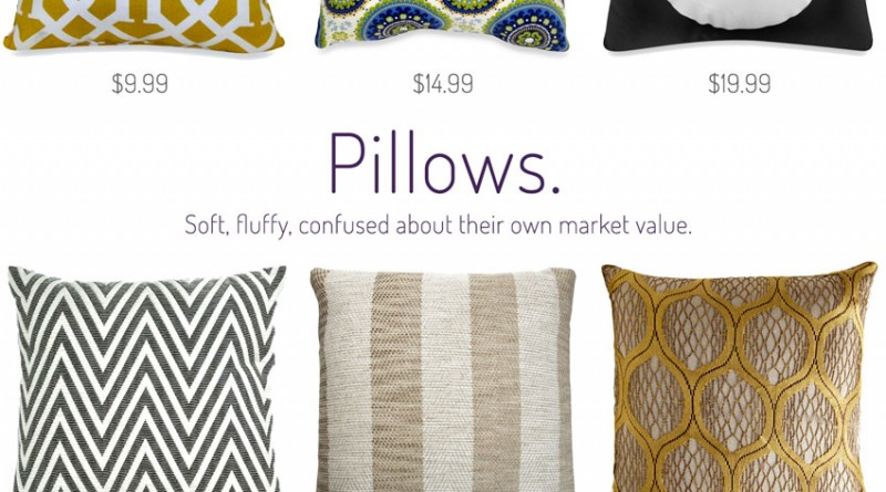 How much would you pay for pillows?