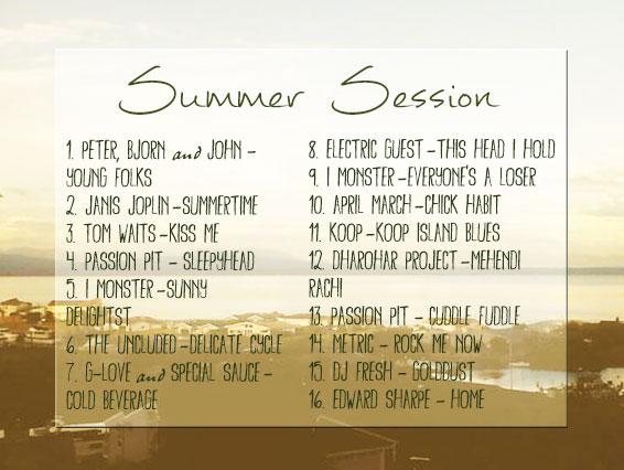 Summer Session 2013