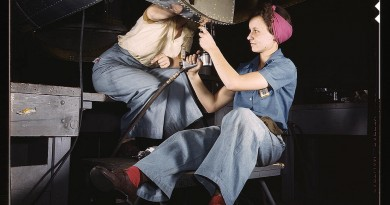 Link Love: Real Rosie the Riveters from WWII