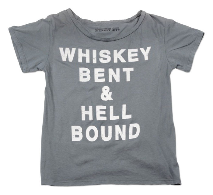 Whiskey Bent & Hell Bound T-shirt
