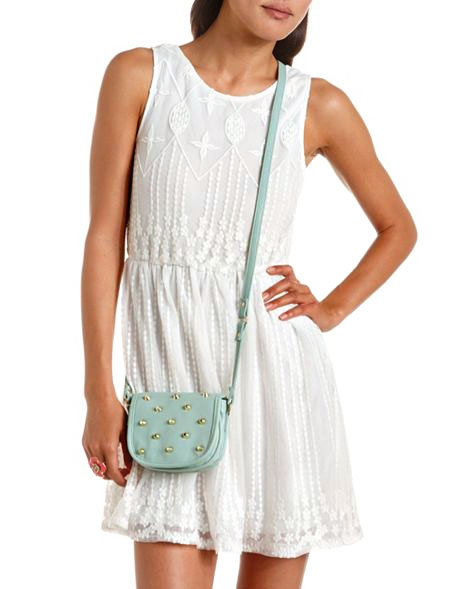 Daily Deal: Charlotte Russe Embroidered Mesh Dress
