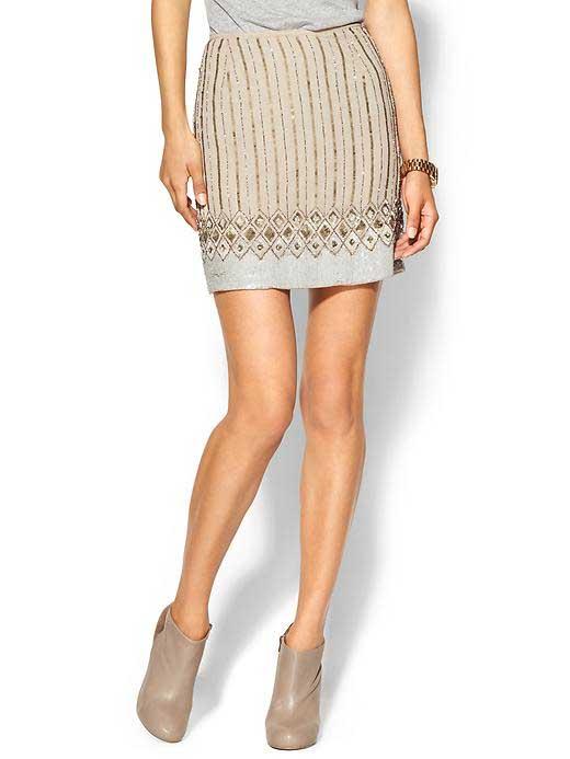 Matty M. Jeweled Skirt