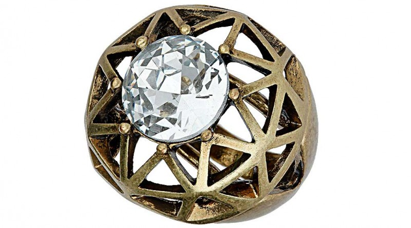 Daily Deal: Topshop Cut Out Stone Ring