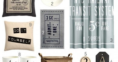 H&M Home: Typography For Typophiles